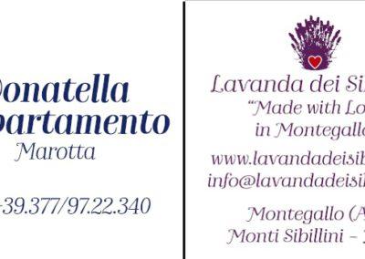 Cartellino Appartamento Donatella - Marotta