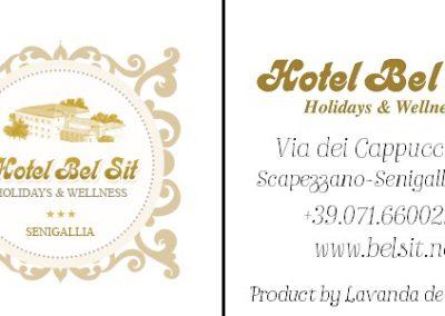 Cartellino Hotel Bel Sit - Senigallia