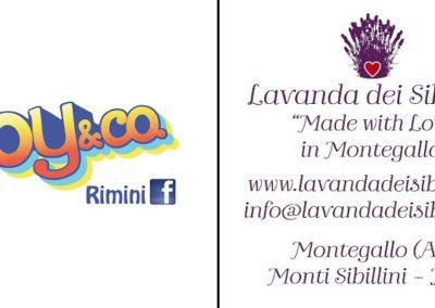 Cartellino Joy&co Rimini
