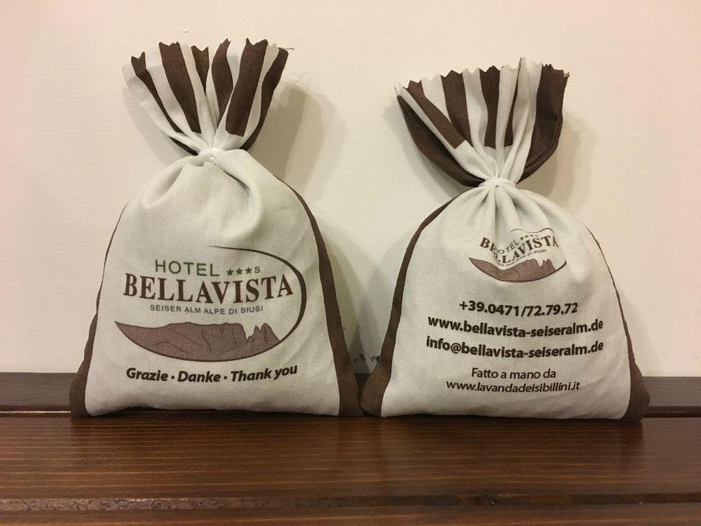 Sacchetti in Cotone personalizzati Hotel Bellavista Lavanda dei Sibillini