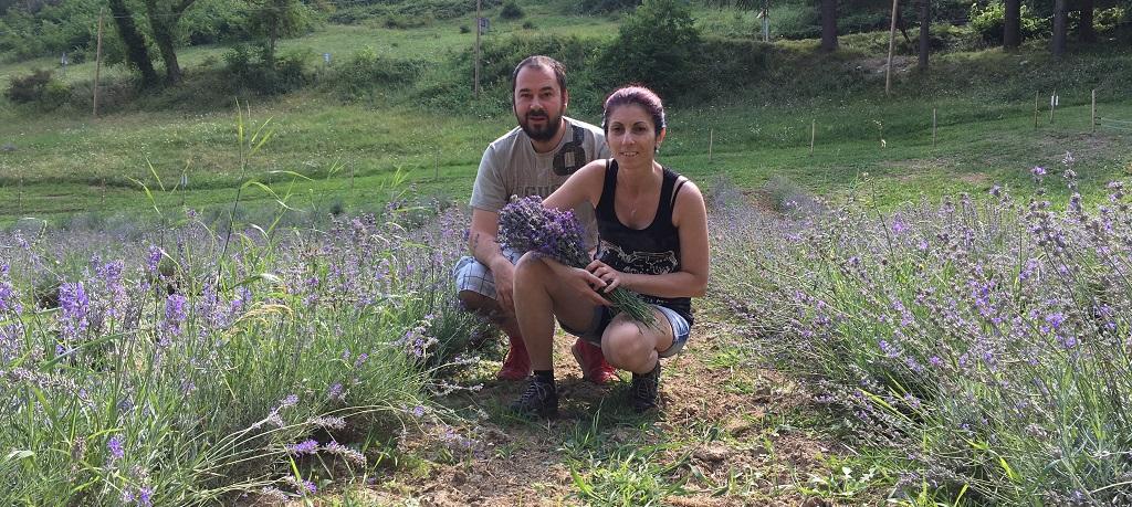 Il viaggio di Federico e Nicoletta sui Monti Sibillini - SibilliniWeb e Lavanda dei Sibillini